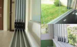 Sürme cam balkon modelleri
